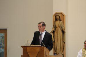 2018 White Mass - Dr. Gerry Burke, President of the SJCMG